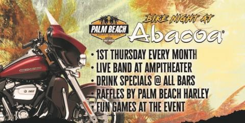 Bike Night in Downtown Abacoa 1st Thursday of Every Month