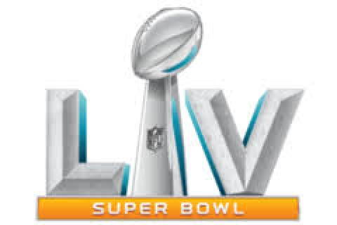 Superbowl LV logo