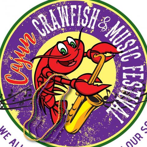 Cajun Crawfish and Music Festival Event logo