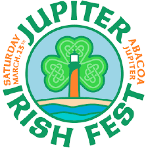 Jupiter Irish Fest logo March 2021 Abacoa Jupiter Florida