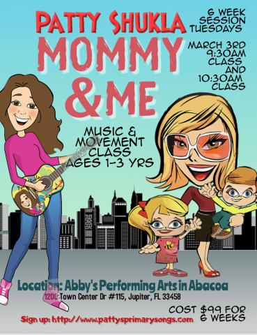 NEW Mommy and Me Music Classes at Abby's Performing Arts