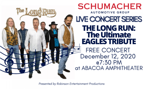 The Long Run Eagles Tribute Band Free Concert Abacoa Amphitheater December, 12, 2020
