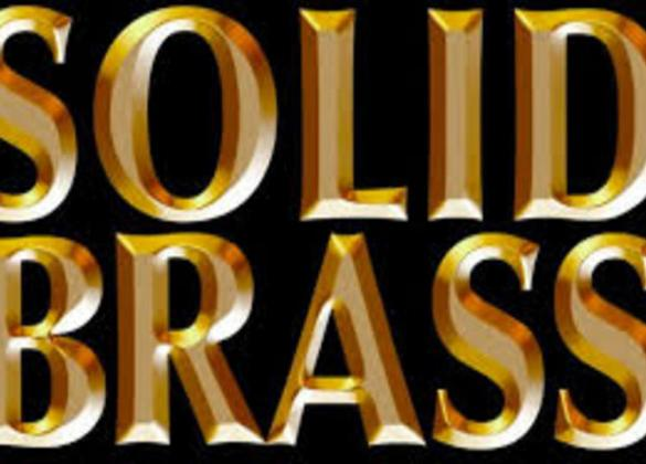 Solid Brass band logo - Chicago Tribute Band
